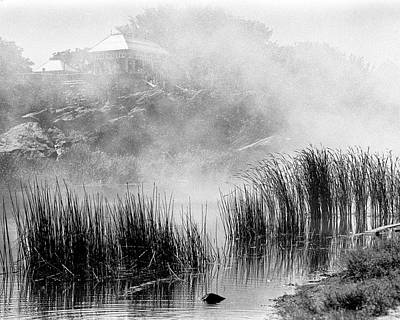 Poster featuring the photograph Turtle Pond Fog by Dave Beckerman