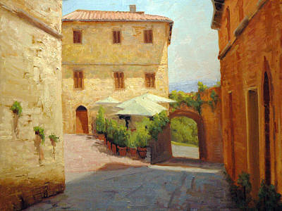 Tuscan Afternoon Poster