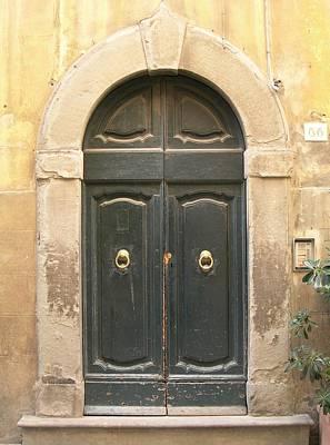 Tuscan Doorway Poster by Melinda Saminski