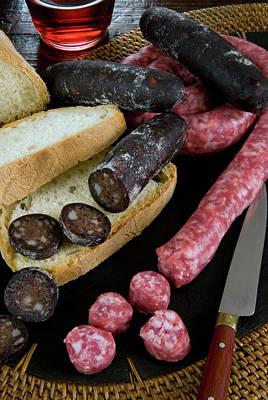 Tuscan Sausages, Tuscan Food, Tuscany Poster