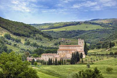 Tuscany - Abbazia Di Sant'antimo Poster