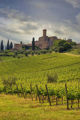 Tuscany - Castello Di Poggio Alla Mura Poster