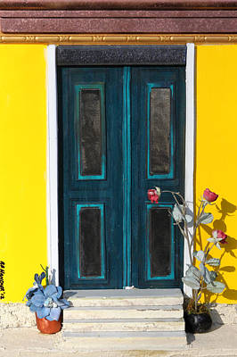 Tuscany Door Poster by Robert Handler