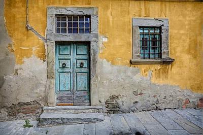 Tuscany Entrance Cortona Poster