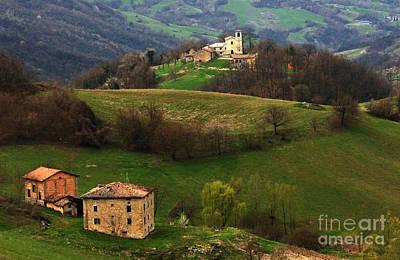 Tuscany Landscape 3 Poster by Bob Christopher