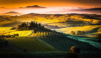 Tuscany Morning Poster by Stefano Termanini