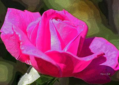 Tuscon Desert Rose Poster