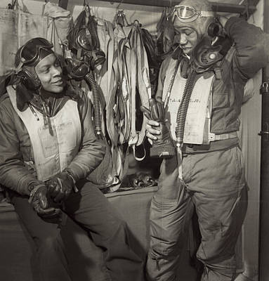 Tuskegee Airmen, 1945 Poster