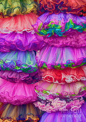 Tutus By The Dozen Poster by Kathleen K Parker