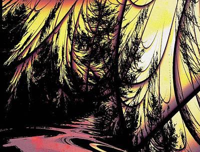 Twilight Forest Poster by Anastasiya Malakhova