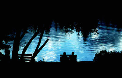 Poster featuring the photograph Twilight Reverie by Mike Flynn