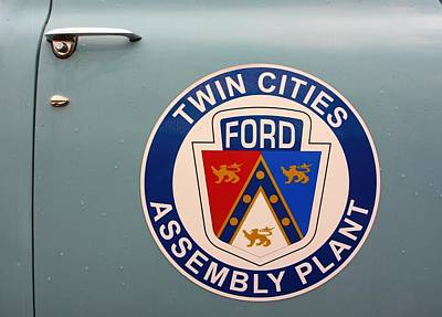Twin Cities Assembly Plant Ford Poster by Amanda Stadther