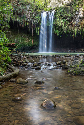 Twin Falls Poster by Pierre Leclerc Photography