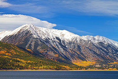 Twin Lakes Autumn Landscape Poster by James BO  Insogna