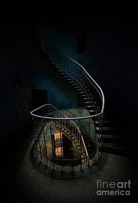 Twisted Staircase Poster by Jaroslaw Blaminsky