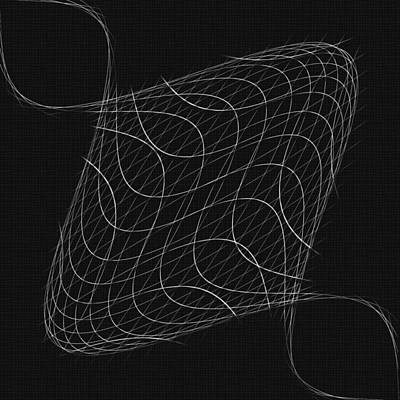 Twisted Wires Poster by John Haldane