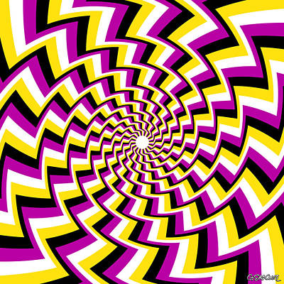 Twisting Spiral Poster
