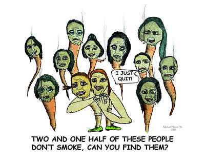 Two And One Half Smokers Quit  Poster