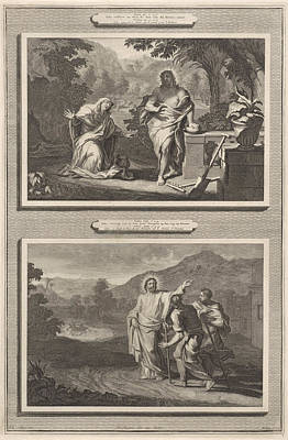 Two Appearances Of Christ After The Resurrection Poster by Artokoloro