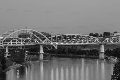 Two Bridges Poster by Robert Hebert