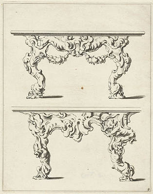 Two Console Tables Poster
