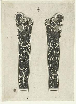 Two Knife Handles, Michiel Le Blon Poster by Michiel Le Blon