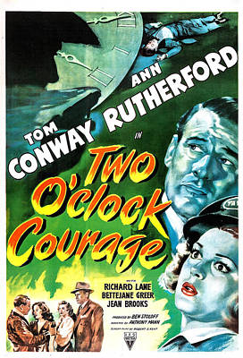 Two Oclock Courage, Us Poster, Tom Poster by Everett