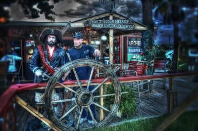 Two Pirates Poster by Richard Hemingway