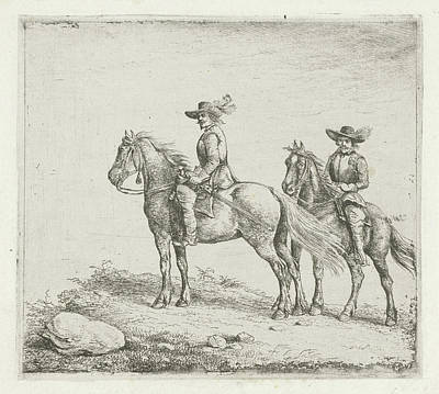 Two Riders On Reconnaissance, Christiaan Wilhelmus Moorrees Poster