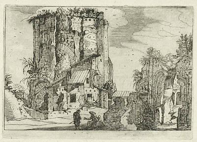 Two Ruins, Willem Van Nieulandt II, Anonymous Poster