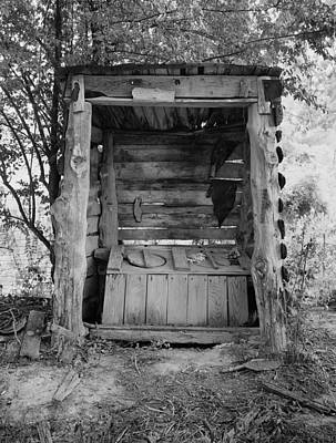 Two-seater Outhouse Poster by Daniel Hagerman