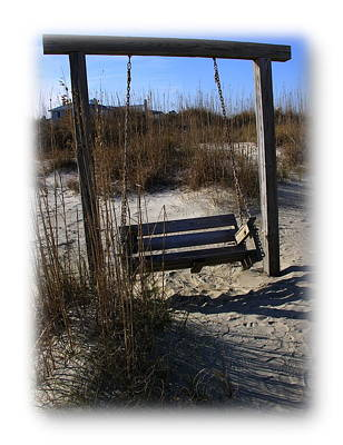 Poster featuring the photograph Tybee Island Georgia by Jacqueline M Lewis