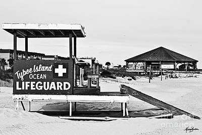 Tybee Island Lifeguard Stand Poster