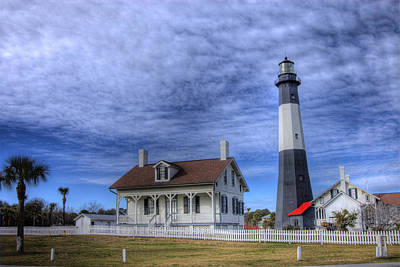 Poster featuring the photograph Tybee Island Lighthouse by Donald Williams