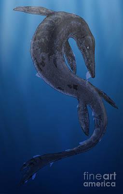 Tylosaurus, A Giant Marine Squamata Poster