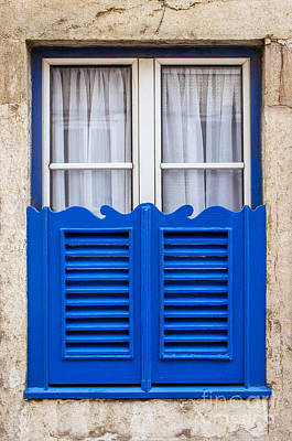 Typical Window Poster by Carlos Caetano