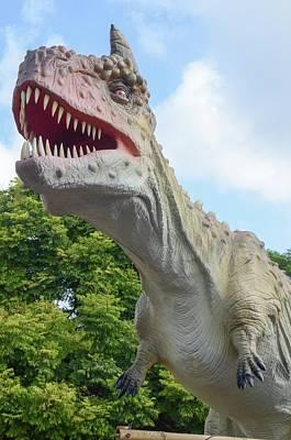 Tyrannosaurus Rex (t. Rex) Poster by Photostock-israel