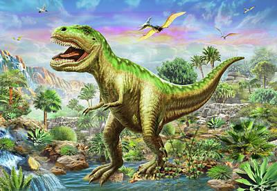 Tyranosaur 3 Poster