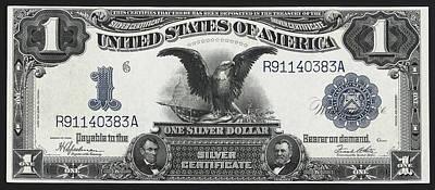 U. S. Silver Certificate 1899 Poster