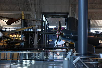 Udvar-hazy Center - Smithsonian National Air And Space Museum Annex - 12121 Poster