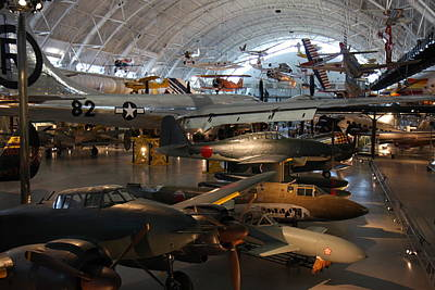Udvar-hazy Center - Smithsonian National Air And Space Museum Annex - 1212109 Poster