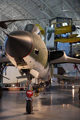 Udvar-hazy Center - Smithsonian National Air And Space Museum Annex - 121225 Poster