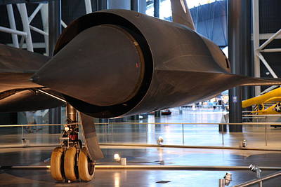 Udvar-hazy Center - Smithsonian National Air And Space Museum Annex - 121231 Poster by DC Photographer