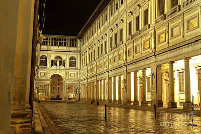 Uffizi Gallery Florence Italy Poster