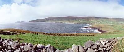 Uk, Ireland, Kerry County, Rocks Poster