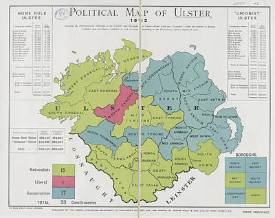 Ulster Poster by British Library