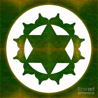 Ultimate Tranquility Abstract Chakra Art By Omaste Witkowski Poster