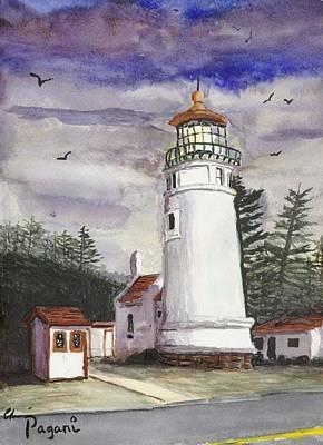 Umpqua Lighthouse Poster