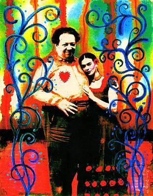 Un Amor A La Mexicana By Laura Gomez Poster by Laura  Gomez