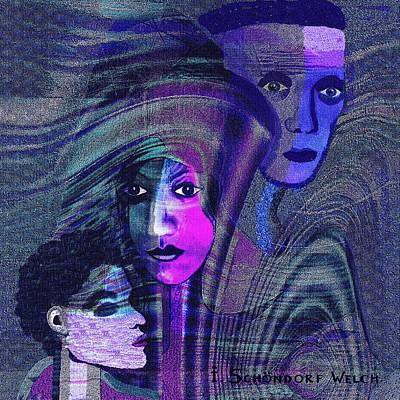 Una Madonna Arrabbiata - 315   Poster by Irmgard Schoendorf Welch